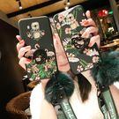 華為麥芒5手機殼 全包邊麥芒4女款毛球軟硅膠防摔火烈鳥創意套    3C優購