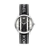 MICHAEL KORS經典帆布錶帶腕錶MK2795