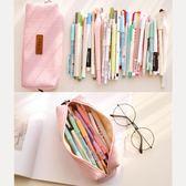 創意簡約鉛筆盒學生純色筆袋