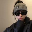 四季可帶運動頭箍韓國ins字母寬邊洗臉發帶休閒純色頭飾頭套女 韓美e站