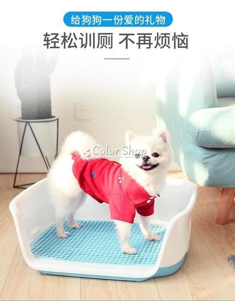 狗廁所泰迪大號中小型犬寵物自動便盆尿盆拉屎盆沖水金毛狗狗用品 快速出貨 YYP