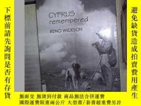 二手書博民逛書店CYPRUS罕見REMEMBERED RENO WIDESON