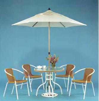 【南洋風休閒傢俱】戶外鋁合金桌椅系列- 編織夏利椅系列 鋁合金 戶外餐桌椅 (591-5)