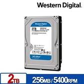 WD 藍標 2TB 3.5吋 SATA硬碟 WD20EZAZ