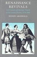 二手書《Renaissance Revivals: City Comedy and Revenge Tragedy in the London Theater, 1576-1980》 R2Y 0226309231