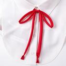 日系女士領花英倫學院風飄帶免打領結JK水手服領帶襯衫蝴蝶結