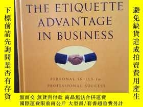 二手書博民逛書店Emily罕見Post s The Etiquette Advantage In Business: Person