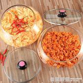 新款加厚泡菜壇子醬菜玻璃缸咸菜缸咸菜罐咸菜壇子醬菜盆超市專用  依夏嚴選
