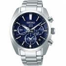 SEIKO精工ASTRON 5X53雙時區太陽能手錶 5X53-0AJ0B SSH019J1 藍
