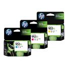 【三彩一組】HP NO.951XL 原廠墨水匣 盒裝 適用OfficeJet Pro 8600 8610 8620 8100 8600 8600Plus