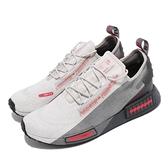 【海外限定】adidas 休閒鞋 NMD_R1 Spectoo 灰 紅 男鞋 Boost 愛迪達 【ACS】 H67407