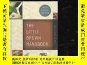 二手書博民逛書店The罕見Little Brown Handbook: High School Version-小布朗手冊:高中版