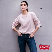 Levis 女款 711 中腰緊身窄管牛仔褲 / 四向彈性延展 / 湛藍刷色