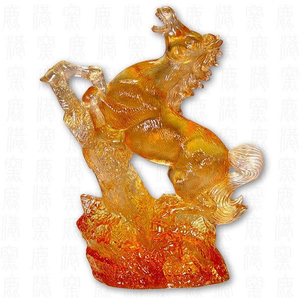 居家開運水晶琉璃-追天含座-附古法制作珍藏保證卡◆免運費送到家