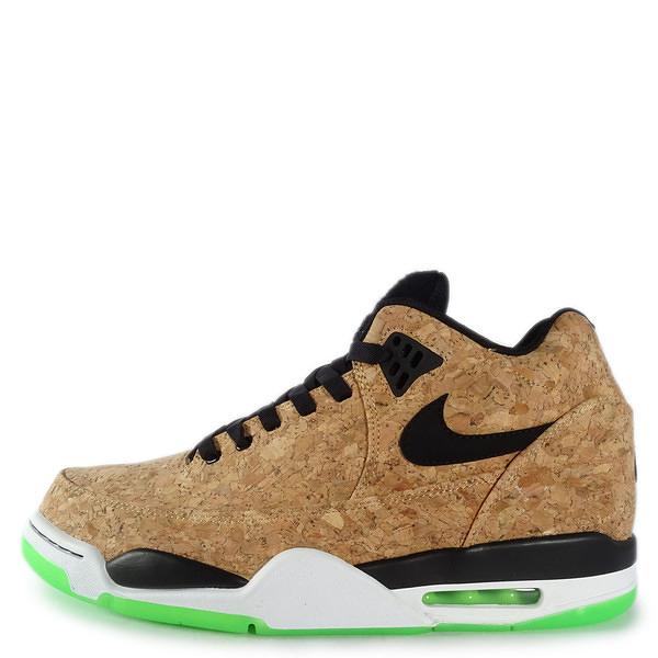 Nike Flight Squad Cork [748281-100] 男鞋 運動 籃球 卡其 綠