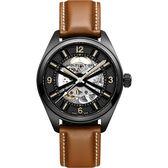 Hamilton 漢米爾頓 KHAKI FIELD卡其野戰全鏤空機械腕錶 H72585535