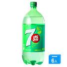 七喜7up汽水寶特瓶2000ml*6入/箱【愛買】