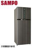 好禮送【SAMPO 聲寶】580公升變頻雙門冰箱SR-A58D(K2)