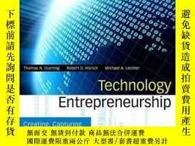 二手書博民逛書店Technology罕見Entrepreneurship: Creating Capturing And Prot