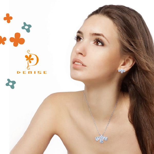 925純銀「愛的花瓣」套鍊 / 銀飾珠寶 / 情人禮物