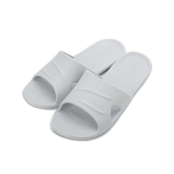 SLIPA 微按摩輕巧室內拖 灰 JA22 男鞋 鞋全家福