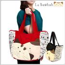 側背包~啵啵貓日系貓咪包 啵啵貓歡樂側背包/肩背包/手提包/拼布包包