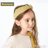 (快出) 巴拉巴拉兒童發飾頭花飾品發夾女童頭飾小女孩蝴蝶結發帶洋氣甜美