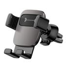 車載支架 汽車用出風口表情卡扣式導航車上支撐重力通用架 【618特惠】
