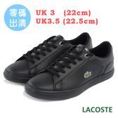 LACOSTE 女用運動休閒鞋-黑色 975