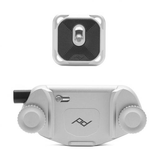 Capture V3 相機快夾系統 (時尚銀) peak design AFD004S  保固一年【camera clip】