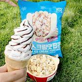 韓國女生最近流行甚麼? IG打卡都是這個- GS25超商限定 香草冰淇淋風味爆米花C38