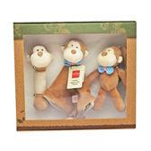 美國MiYim有機棉 安撫玩具禮盒組 布布小猴【WEMI010010001】