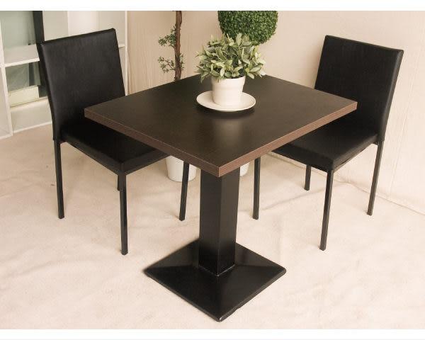 【YUDA】伯爵桌(黑腳)《六入以上$2140 》餐廳用餐桌  四人餐桌/小餐桌 新竹以北免運