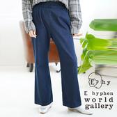 「Hot item」喇叭褲管剪裁丹寧牛仔褲 - E hyphen world gallery