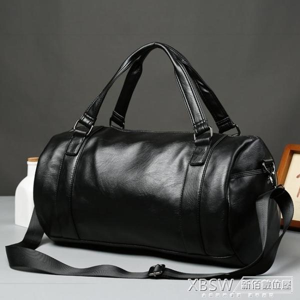 運動包健身包旅行包手提旅游包小行李袋單肩訓練包斜挎包『新佰數位屋』