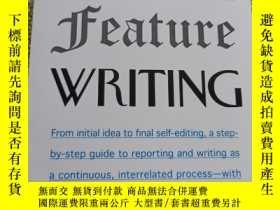二手書博民逛書店The罕見art and craft of feature wr