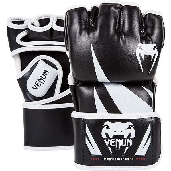 『VENUM旗艦館』L UFC VENUM搏擊MMA挑戰者號∼康貝入門初級手套∼健身房BODY COMBAT手套-黑白