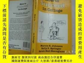 二手書博民逛書店HOW罕見TO SUCCEED IN COLLEGEY6833
