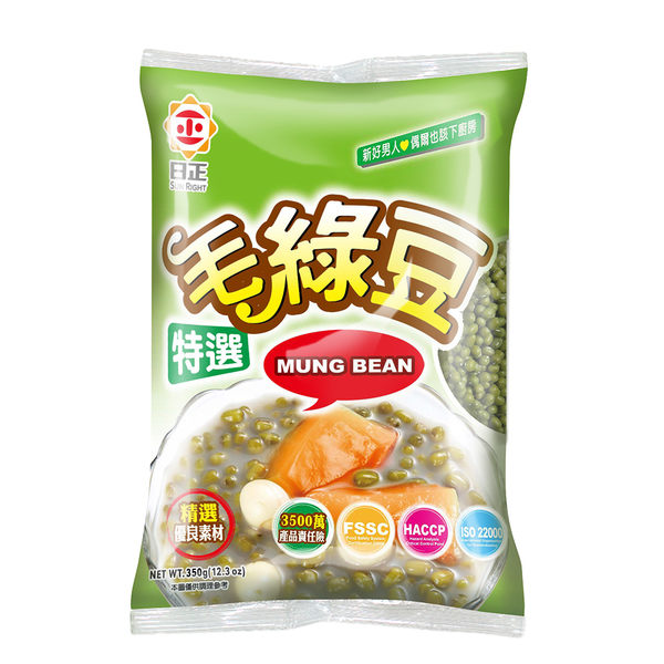 《日正》毛綠豆350g