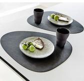 618年㊥大促 丹麥MAT曲線皮系隔熱防水燙滑易擦碗盤創意西餐墊北歐式樣新時尚