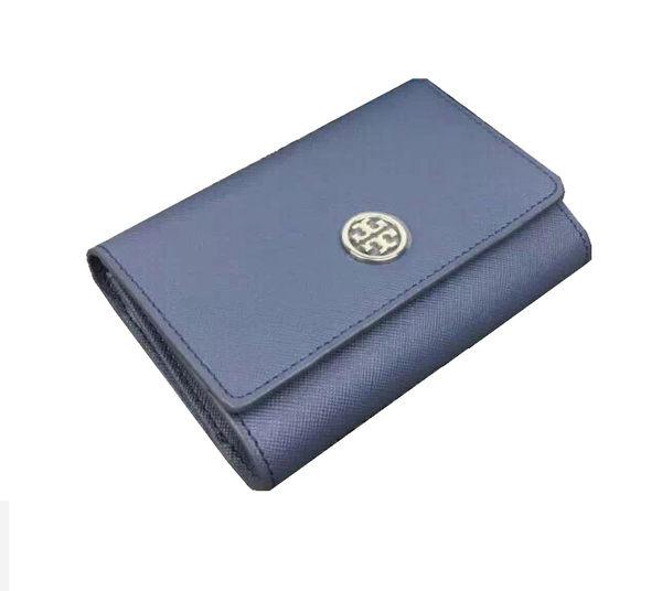 Tory Burch  羅賓遜短款女士十字紋錢包 11159029