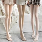 絲襪絲襪女春秋款薄款中厚連褲襪加厚光腿裸感神器女肉色打底褲女 新品