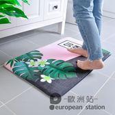 防滑墊/進門地墊門墊浴室門口擦腳墊防滑衛浴衛生間吸水家用可機洗可手洗「歐洲站」
