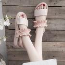 涼鞋女士年夏季新款百搭厚底旗袍學生仙女風羅馬平底鞋ins潮