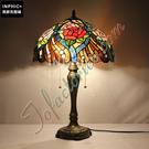 INPHIC-文藝歐式復古玫瑰裝飾客廳奢華結婚喜慶拉鍊檯燈_S2626C