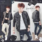 。SW。正韓 韓國製 輕薄防風布MA1 質感 黑迷彩/素面 雙色 金屬雙拉鍊 夾克外套 GD 英倫【K71289】
