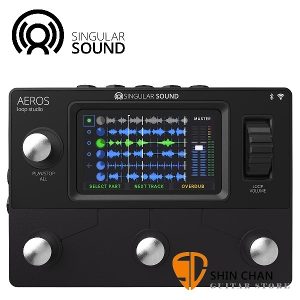 SINGULAR SOUND Aeros Loop Studio 樂句循環工作站【原廠公司貨一年保固】