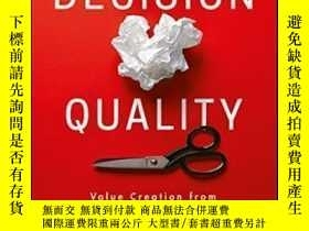 二手書博民逛書店Decision罕見QualityY464532 Carl Spetzler; Hannah Winter;