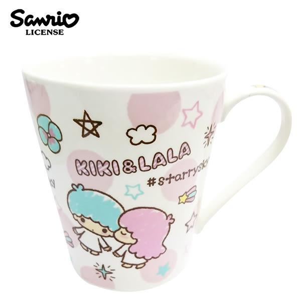 【日本正版】雙子星 陶瓷 馬克杯 250ml 咖啡杯 KIKILALA 三麗鷗 Sanrio - 076352