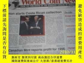 二手書博民逛書店World罕見Coin News(Vol.24, 1997年第1
